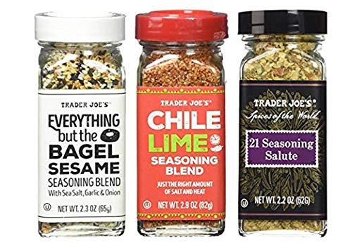 Seasoning - 21 Salute Seasoning, Chile Lime and Everything but the bagel Seasoning