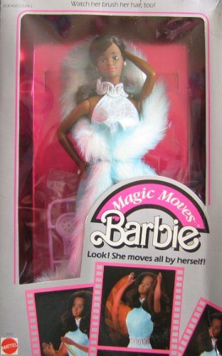 Vintage Magic Moves BARBIE Doll AA w Accessories! (1985 Mattel Hawthorne) ()