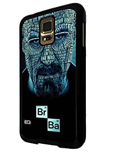 489 - Breaking bad Mr White BrBa Heisenberg Design For All Samsung Galaxy S3 / Galaxy S3 mini / Galaxy S4 /Galaxy S4 Mini / Galaxy S5 / Galaxy S5 Mini / Galaxy S6 / Galaxy S6 Edge / Samsung Galaxy A3 / Galaxy A5 / Samsung Galaxy Galaxy Alfa / Galaxy Ace 4 / Samsung Galaxy Grand Prime Fashion Trend CASE Back COVER Plastic & Metal -Select your phone model from the drop box under