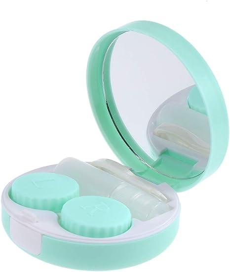 SUPVOX Caja de lentes de contacto de 1 pieza Caja de lentes porta ...