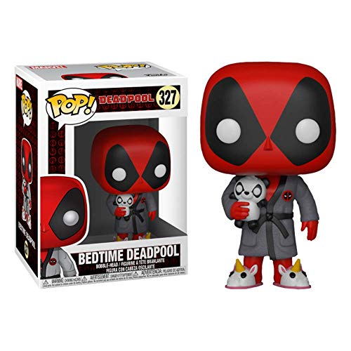 Funko- Figura Pop Marvel Parody Deadpool in Robe Vinilo, Multicolor (31118)