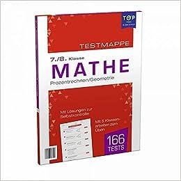 Testmappe Mathe Prozentrechnen Geometrie 7 8 Klasse Amazon De Ullmannmedien Bucher
