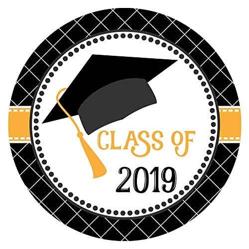 Amazon.com: Graduation Cap Class of 2019 Sticker Labels
