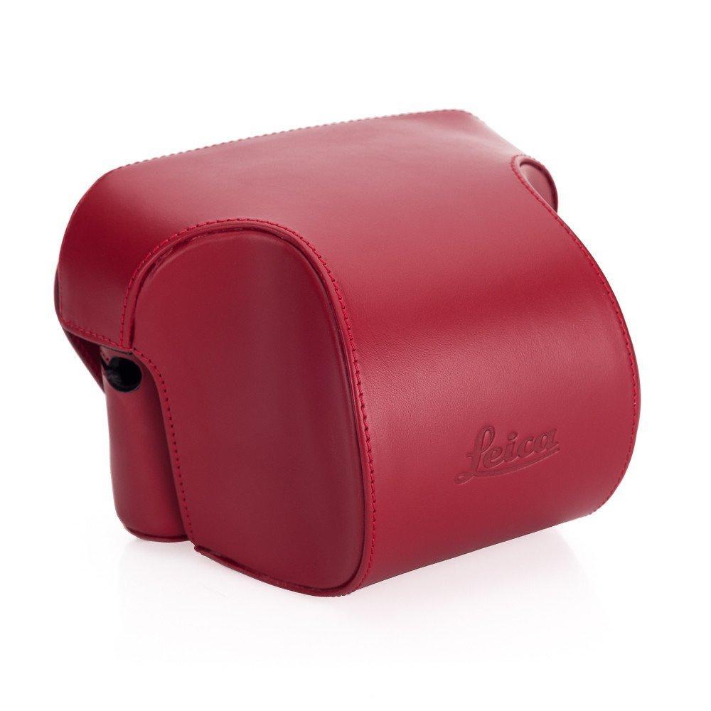 Leica Ever ready case, Box calf leather, red [並行輸入品] B019SZAWGE