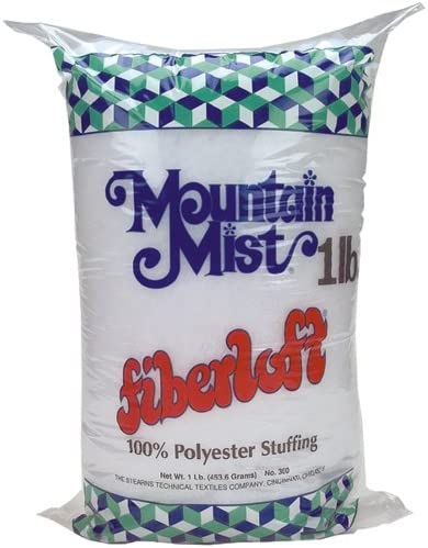 Mountain Mist Fiber Fiberloft 1lbs Stuffing, 16 Ounces Fob:mi