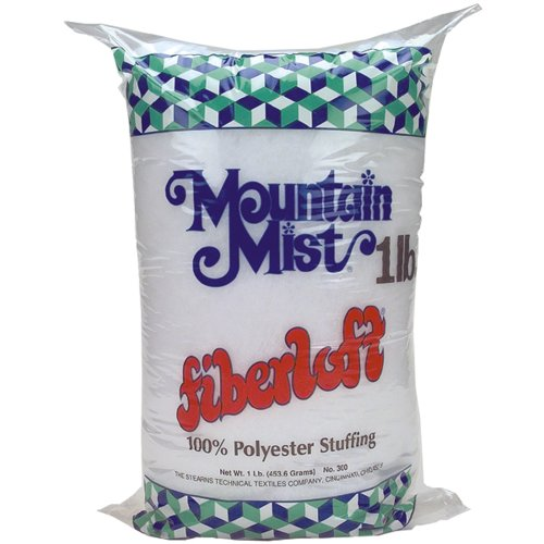 Mountain Mist Fiber Fiberloft 1lbs Stuffing, 16 Ounces Fob:mi ()