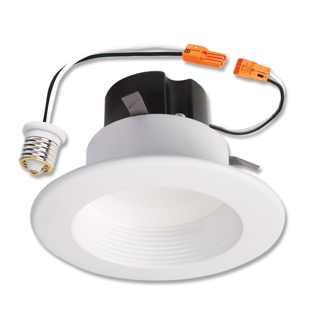 amazon com halo rl460wh840pk led recessed retrofit rl light with