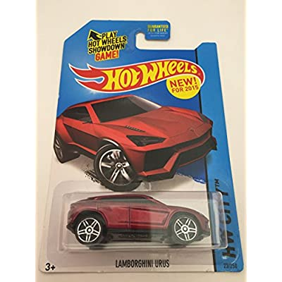 Hot Wheels, 2015 HW City, Lamborghini Urus [Maroon] 23/250: Toys & Games