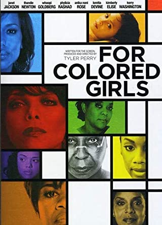 Amazon Com For Colored Girls Thandie Newton Whoopi Goldberg Tyler Perry Movies Tv