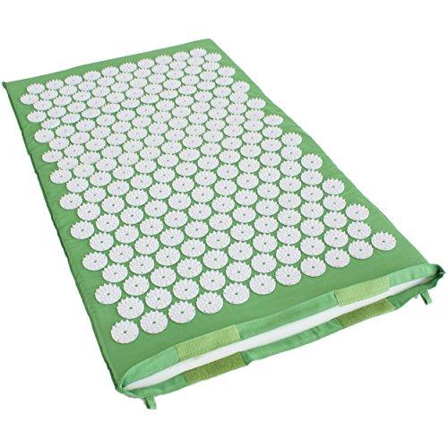 Limberfit® Akupressurmatte mit 230 Stimulationskreisel Grün oder Violett inkl. Tragetasche