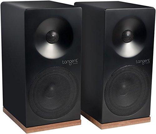 Tangent Spectrum X4 80W zwart – luidspreker (2-weg 2,0 kanalen, kabel, 80 W, 70-20000 Hz, zwart)