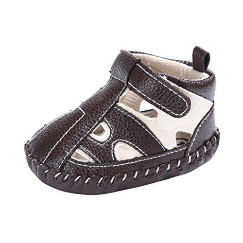 [해외]Mosunx (TM) 유아 아기 소녀 소년 가죽 어린이 신발 소프트 단독 미끄럼 방지 운동화/Mosunx(TM) Toddler Baby Girl Boy Leather Crib Shoes Soft Sole Anti-sl