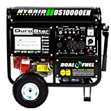 DuroMax DS10000EH Duel-Fuel Portable Generator