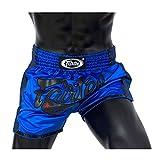 Fairtex Muay Thai Boxing Shorts Slim Cut - Red, Orange, Blue, Yellow, S, M, L, XL