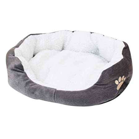 Amazon.com: Alfombrilla de felpa cálida para mascotas ...