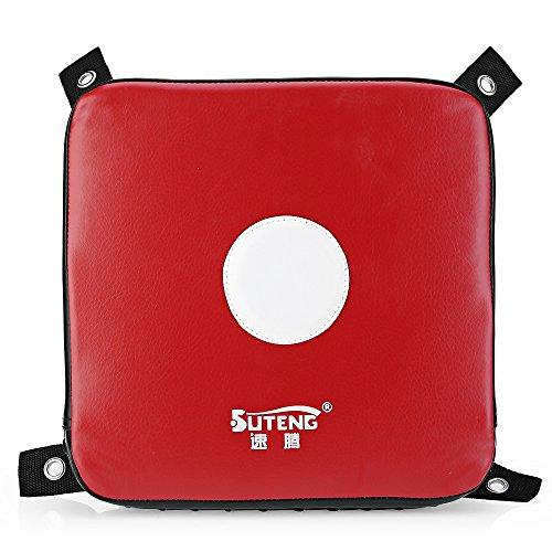 Square Boxing PU Leather Punching Wall Pad Shield Target Focus Kick Strike Pad Sandbag For Training Fitness MMA