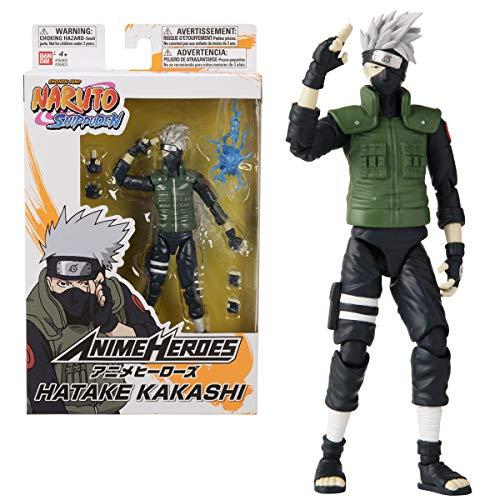 BANDAI-36903-Anime-Heroes-Naruto-15cm-Hatake-Kakashi-Action-Figures