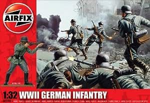Airfix - WWII German Infantry, set de figuras (Hornby A02702)