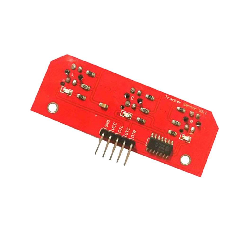 Homyl 3 Channel IR Infrared CTRT5000 Line Detection Module Line Follower Sensor for Arduino