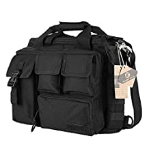 "Koolertron Multifunction Mens Military Tactical Outdoor Nylon Shoulder Messenger Bag Handbags Briefcase Large Enough for 15.6"" Laptop"