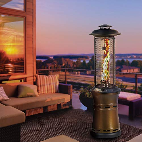Bali Outdoors Propane Patio Heaters Floor Standing Round