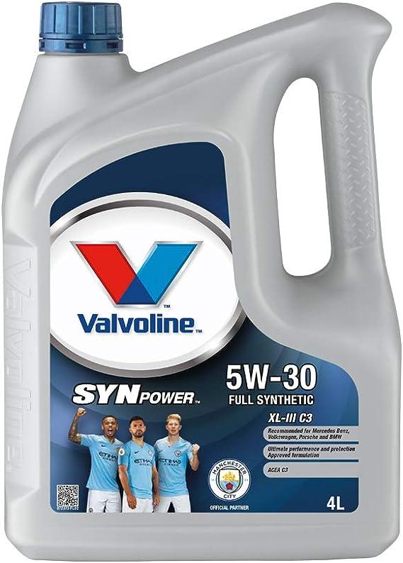 VALVOLINE Aceite de Motor SynPower XL-III C3 5W-30 4L: Amazon.es: Coche y moto