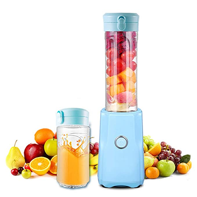 WGFGXQ Portable Juicer, Multi-Function Fruit Blender. 300W. Does Not Contain BPA.