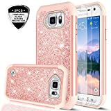 Galaxy S6 Active Case (Not Fit Galaxy S6)with Tempered Glass Screen Protector [2