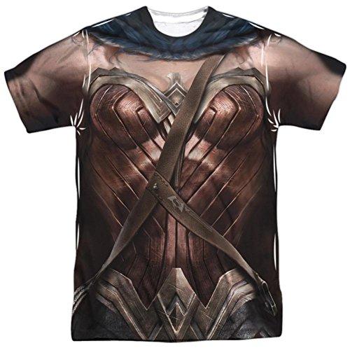 Batman vs. Superman- Wonder Woman Uniform Costume T-Shirt Size L -
