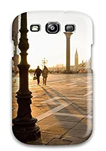 Slim Fit Tpu Protector Shock Absorbent Bumper Townsquare Space Meeting Place Square Nature Other Case For Galaxy S3