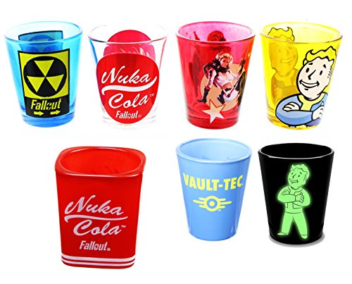 Fallout 1.5oz Shot Glass Bundle, Set of 7