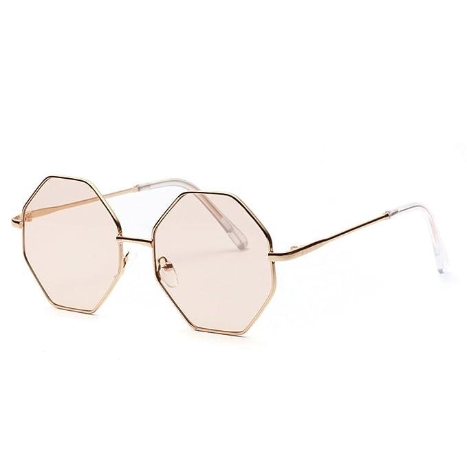 Amazon.com: Gafas de sol vintage hembra de policarbonato ...