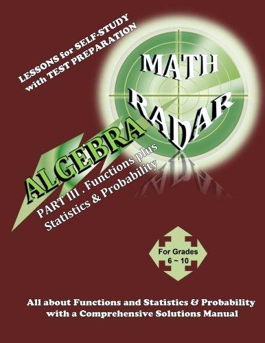 ALGEBRA-Functions plus Statistics  &  Probability