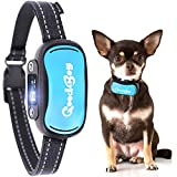 GoodBoy Humane Dog Bark Collar for Small, Medium and Large Breeds – Sound or Vibration Modes Control Unwanted Barking – Rechargeable No Bark Training Device – New 2019 Upgraded Sensor and Chip