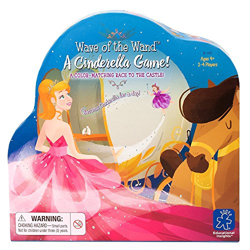 - Educational Insights Wave of the Wand-A Cinderella Game
