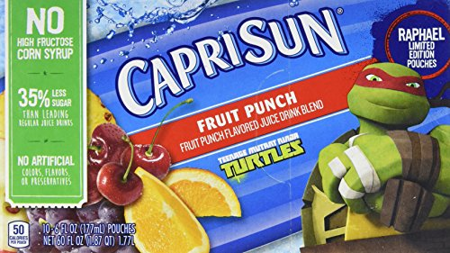 Capri Sun Juice Drink Blend, Fruit Punch, 10 - Drinks & Juices