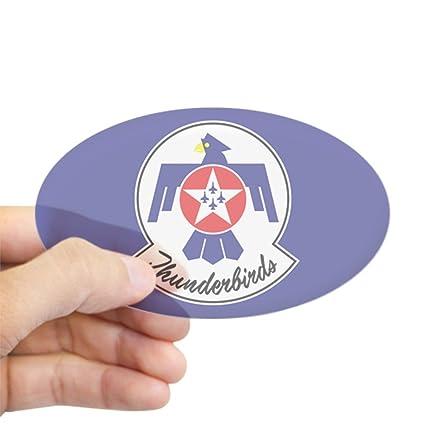 Amazon Com Cafepress Usaf Thunderbirds Emblem Oval Bumper