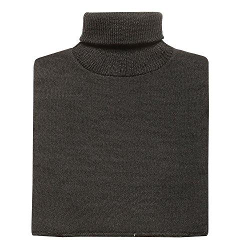 Dickies Turtleneck - Women's Turtleneck Dickie - Lightweight Mock Sweater - Black