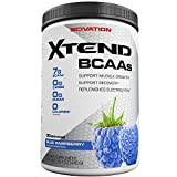 #5: Scivation Xtend BCAA Powder, Branched Chain Amino Acids, BCAAs, Blue Raspberry, 30 Servings