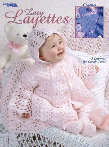 Lacy Layettes  (Leisure Arts #2937) by LEISURE ARTS (Image #1)