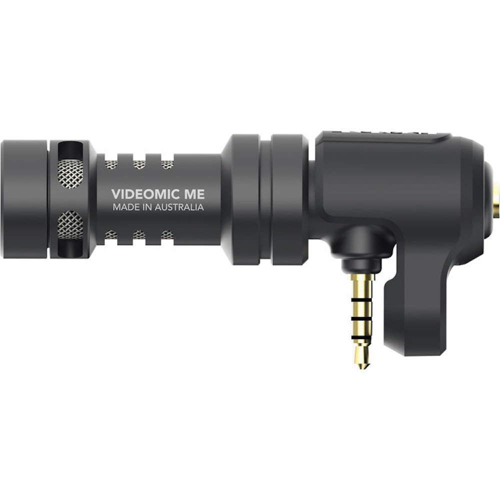 Rode VideoMic Me Compact TRRS Cardioid Mini-Shotgun Microphone for Smartphones by Rode