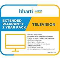 Bharti Assist Global Private Limited 2 Years Extended Warranty for TV (Rs.1/- to Rs.18000/-)