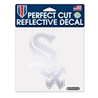MLB Chicago White Sox Perfect Cut Reflective Decal, 6 x 6-Inch