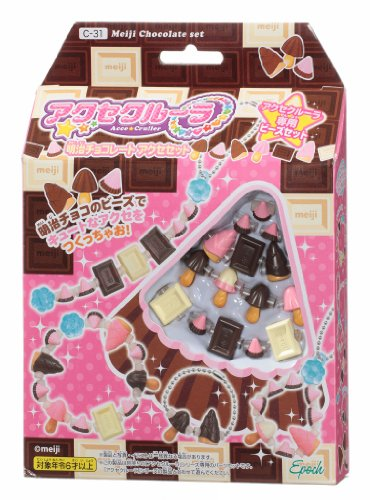 Akusekurura Meiji chocolate access set C-31 by Epoch