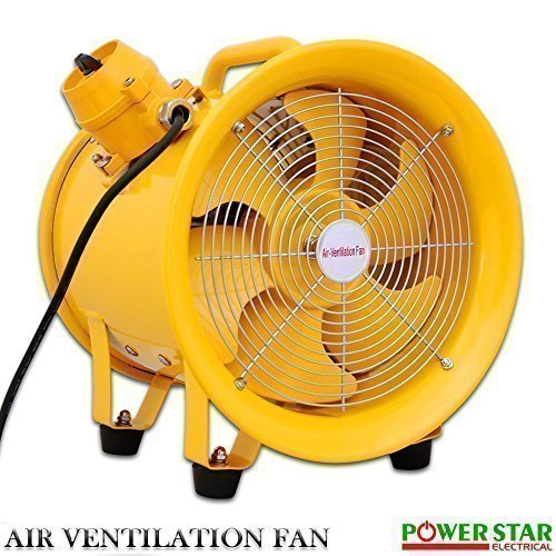 Explosion Proof Portable Ventilation Fan Atex Rated