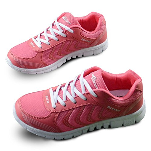 Show Running Women's Sneakers Mesh Red Rose Brand Fashion Sports Breathable Shoes Athletic Best qEfSgxwTp