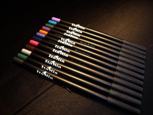 Crayons pour les yeux Italia Ensemble de 12