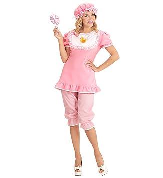 Karneval Klamotten Baby Kostum Erwachsene Damen Kostum Rosa Weiss