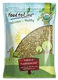 Pepitas/Semillas de calabaza orgánicas de Food to Live (Crudas, sin cascara) (8 Pounds)