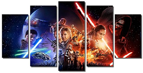 Picture Sensations Framed Canvas Art Print, Star Wars The Fo